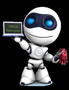 virus clean up