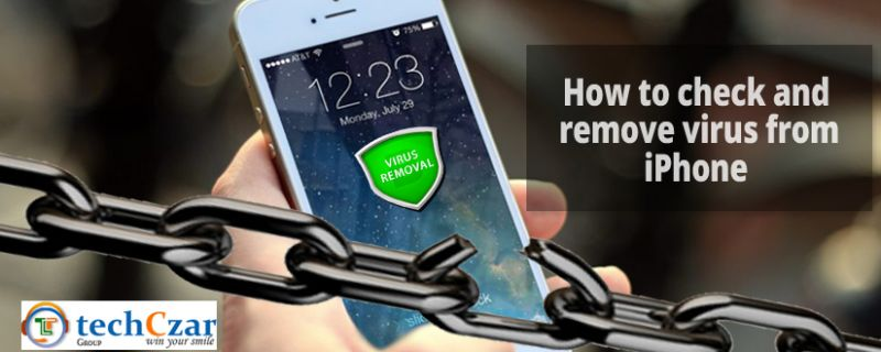 How to check and remove virus from iPhone